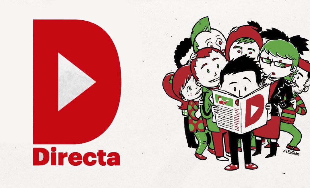 Ja pots comprar el setmanari La Directa a l'Ateneu Lo Tort