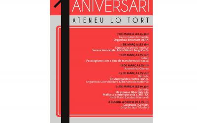 L'Ateneu Lo Tort celebra un any de vida