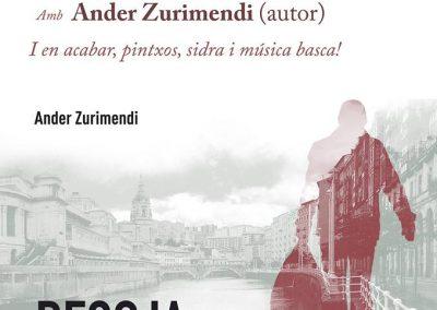 17 de juny   Presentació del llibre 'Recoja sus cosas' de Zurimendi