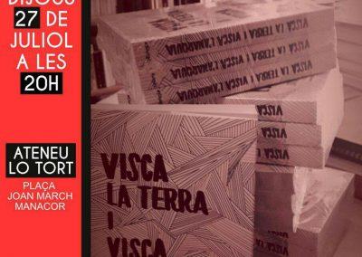 27 de juliol | Presentació del llibre 'Visca la terra i visca l'anarquia'