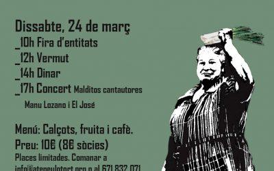 La 2a Calçotada Popular s'aplaça a dijous 29 de març
