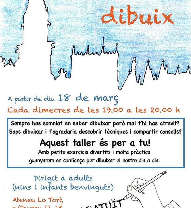 18 de març | Taller setmanal de dibuix