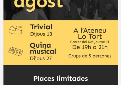 13 d'agost | Trivial