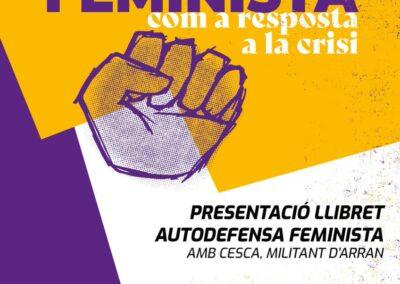 18 de juny | Presentació llibret autodefensa feminista